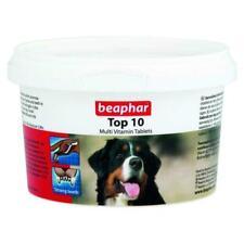 Beaphar Top 10 Multi-Vitamin Tablets for Dogs Healthy Bones Teeth - 180 Tablets
