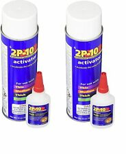 New listing FastCap 2P-10 Super Glue Adhesive 2.25 Ounce Thick and 12Oz Activator (2-Pack)