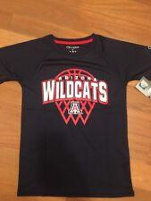 NCAA Connecticut Huskies Boys Short Sleeve Crew Neck Raglan Synthetic T-Shirt, S