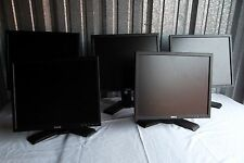 LOT-5 Dell 1908FP UltraSharp Black Monitor w/4-USB Hub VGA DVI D319J F028J D3073