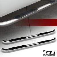 """For 1994-2000 Chevy//GMC C10 C//K Regular 2Dr 3/"""" Chrome Side Step Nerf Bars Boards"""