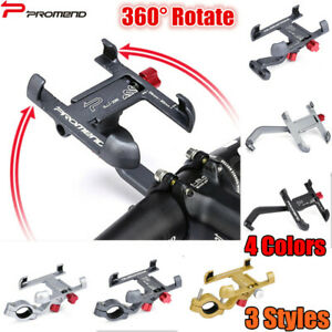 Promend 360° Motor Bicycle Stem Phone Mount Stand Aluminum Bike Handlebar Holder