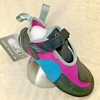 MAD ROCK Lotus Women's Climbing Shoe Teal/Violet/Black - Choose SIZE