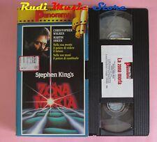 film VHS cartonata LA ZONA MORTA Martin Sheen Stephen King 1983  (F12 * ) no dvd