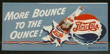 "Dollhouse Miniatures Metal Sign Advertising Bounce PEPSI COLA 3 1/4"" x 1 1/2"""