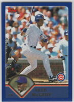 2003 Topps Baseball Chicago Cubs Team Set