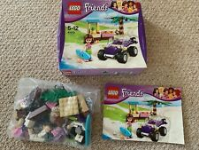 Lego friends 41010 Olivia beach buggy complete