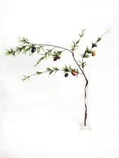 Artificial Ramo De Olivo 117 Cm Longitud-Falso Frutas ramas