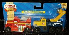 NEW Thomas & Friends Wooden Railway Train Butch Flynn RACE TO THE RESCUE
