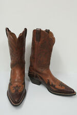 ARIAT HERITAGE Two-tone Wingtip Boots 7B Western 15863 Brown X-toe