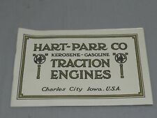 Vintage 1910's HART PARR Tractor Farm Machinery Catalog Brochure 48 pages