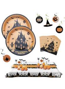 Complete Halloween Party Supply Set New In Box