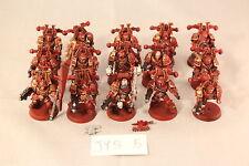 Warhammer Chaos Space Marines Khorne Berzerkers Pro Painted
