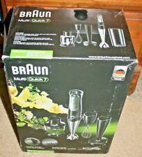 Braun - Multiquick 7 Hand Blender new