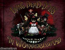 Living Dead Dolls in Wonderland Hardcover Book Limited Edition Libro Mezco Raro