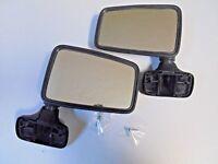 2 Retroviseur (G+D) plastique Noir Renault 5 R5 Alpine Mirrors Espejos Spiegel