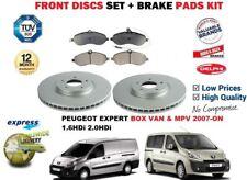 für Peugeot Expert MPV Dose Tepee ab 2007 Vorderbremse Scheibensatz +
