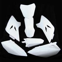 White PLASTICS FENDER FAIRING COVER KIT DIRT/PIT/BIKE For YAMAHA TTR 50 TTR50