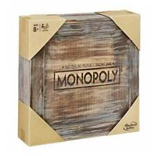 Monopoly Rustic Edition Board Game NEW