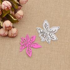 Flower Cutting Dies Stencil Template DIY Scrapbooking Paper Card Decor