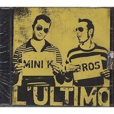 MINI K BROS - L'ultimo - CD 2008 SIGILLATO SEALED