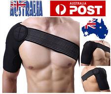 Adjustable Shoulder Support Brace Strap Protector Wrap Bandage Sports Brace AU