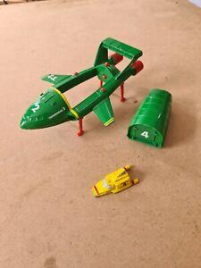 Vintage Matchbox 1992 Thunderbirds 2 & 4 Die-cast Models