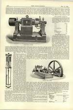 1892 Great Northern Railway Works Doncaster 9 Spring Shop Machines Dynamos