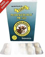 Cuajo Coagulante Marschall 10 pastillas original de calidad para hacer queso,