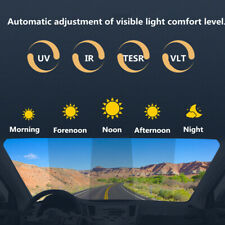 Car Solar Film VLT 75%~20% Photochromic Film Window Glass Tint Solar Protection