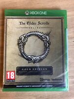 The Elder Scrolls Online Gold Édition Jeu Xbox One Neuf Sous Blister