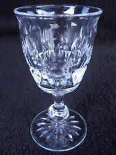 Tudor Crystal Made In England Raleigh Sherry Glass