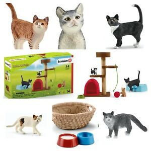Schleich Cats & Accessories Schleich Playtime for Cute Cats. Model Cats