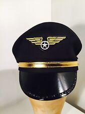 Cappello Uomo Pilota Costume Festa Dimensioni: 59cm