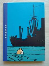 TINTIN - 'NOTEBOOK' + FREE BOOK 'THE CRAB WITH THE GOLDEN CLAWS'+'CON GABARDINA'