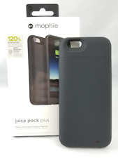 Mophie Juice Pack Plus 120% Extra Battery for iPhone 6 6s - BLACK - NEW IN BOX!!
