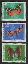 Hungary 1969 Butterflies/Insects/Nature 8v set ref:b1546