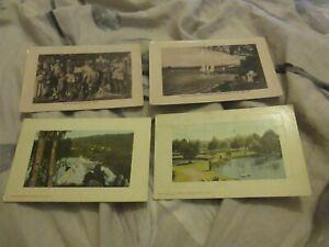 4 old  postcards  western australia