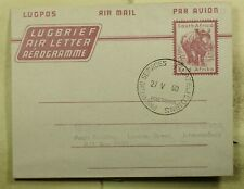 DR WHO 1960 SOUTH AFRICA PHILATELIC AEROGRAMME STATIONERY C190020