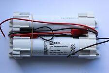 Mackwell 4.8V 4 cell 4.5Ah 4500ma emergency lighting battery pack nickel cadmium