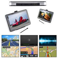 "7"" 8GB Car Truck  GPS Navigation Lorry HGV Sat Nav FM Newest UK EU Maps 2018"