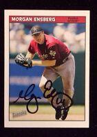 MORGAN ENSBERG 2006 TOPPS BAZOOKA Autographed Signed Baseball Card JSA 19 ASTROS