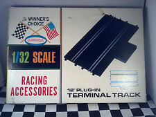 "Aurora Winners Choice 1/32 Scale 12"" Plug-in Terminal Track Vintage 1965"