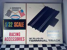 "Aurora Winners Choice 1/32 Scale 12"" Plug-in Terminal Track Vintage 1965"