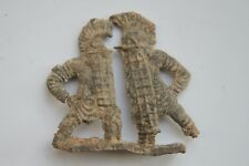 ANCIENT ROMAN LEAD FIGHTING GLADIATOR FIGURES 1st century AD