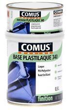 Peinture polyuréthane BLANCHE bi-composants PLASTILAQUE 340 COMUS PLASTICOQUE