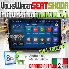 "AUTORADIO 9"" ANDROID 7.1 VW GOLF 5 6 GTI,NewBeetle,Passat,Tiguan,Touran,Sciro..."