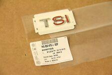 Chrome / Red 'TSI badge CC Jetta Passat 1K5853675J GQF New genuine VW part