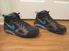 Used Worn Size 13 Nike Air Max Abasi ACG Boots Black Emerald Gray