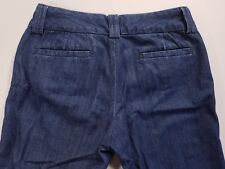 BANANA REPUBLIC Blue Chambray Stretch SLOAN Fit Pants size 6 Ret $98